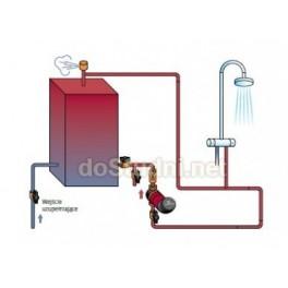 Podłączenie pompy cyrkulacyjnej Grundfos UP 15-14 B PM