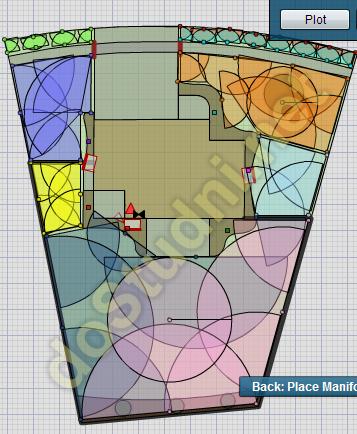 Projektowanie systemu automatycznego nawadniania ogrodu CAD