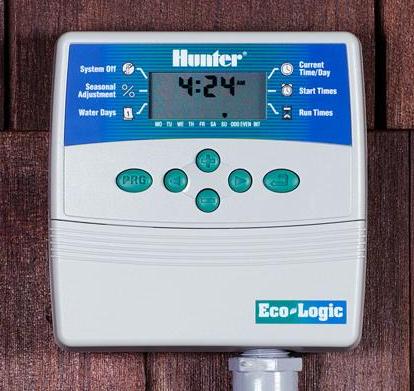 Montaż wewnętrznego sterownika nawadniania Hunter Eco Logic
