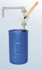 Przepompowywanie oleju przy pomocy pompy skrzydełkowej